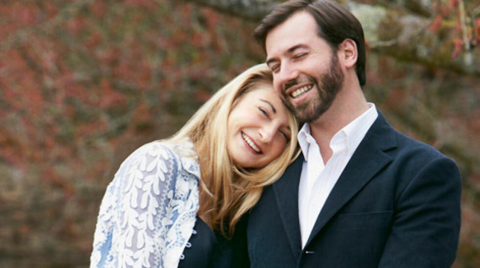 GIFTEKLAR: I april kunngjorde hoffet i Luxembourg at kronprins Guillaume (30) hadde forlovet seg med hertuginne Stéphanie de Lannoy (27). Nå er snart dags for bryllup. Foto: Kongehuset