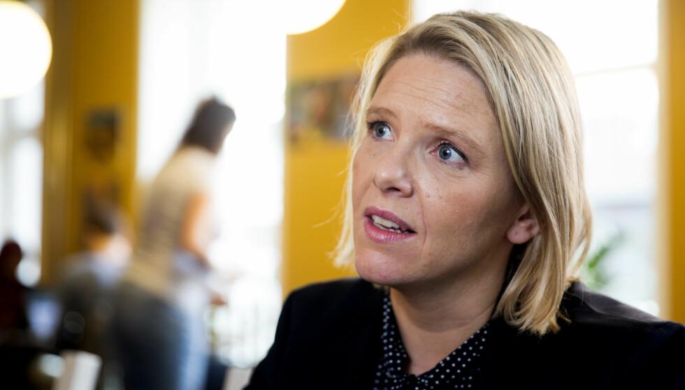 <strong>BITT AV BLOGGBASILLEN?:</strong> Norges innvandrings- og integreringsminister, Sylvi Listhaug, har begynt å blogge. Foto: Scanpix