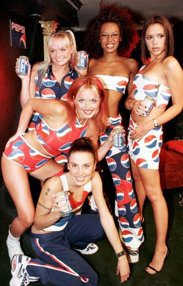 ENORM SUKSESS: Spice Girls blir fremdeles ansett som verdens mest suksessfulle jentegrupper. De ble oppløst i 2001. Foto: NTB Scanpix