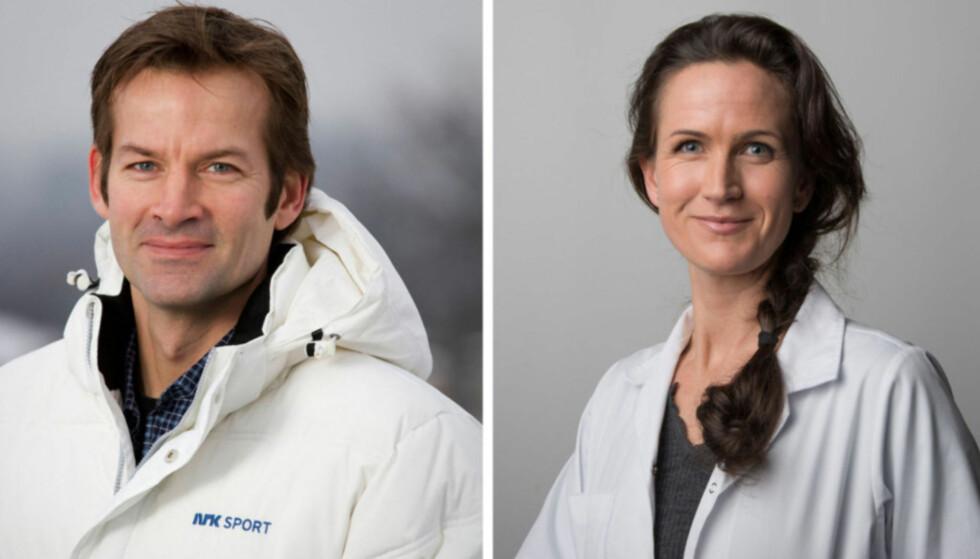 <strong>BROR OG SØSTER:</strong> Jon Almaas har vært et kjent fjes i en årrekke, og tidligere i år ble også søsteren Astrid tv-kjendis. Foto. NRK