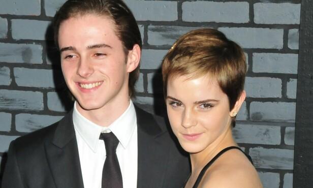 <strong>MODELL:</strong> Alex Watson (23) sammen med storesøsteren Emma (26). Mens førstnevnte jobber som modell, har Emma blant annet oppnådd suksess gjennom Harry Potter-filmatiseringene. Foto: NTB Scanpix