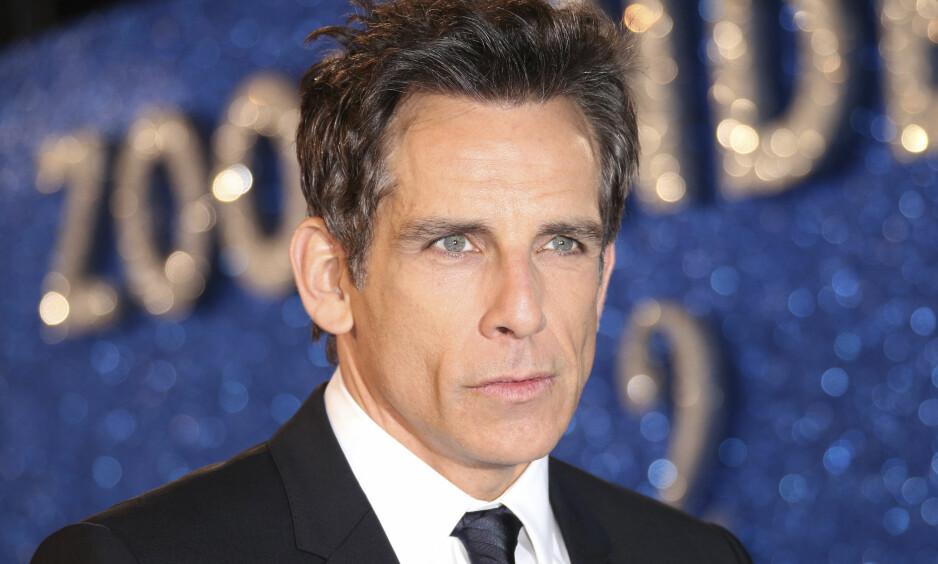 SKJULTE DIAGNOSEN: Skuespiller Ben Stiller (50) ble for to år siden kreftdiagnostisert. Nå åpner han opp om sykdommen i et nytt TV-intervju for første gang. Foto: NTB Scanpix