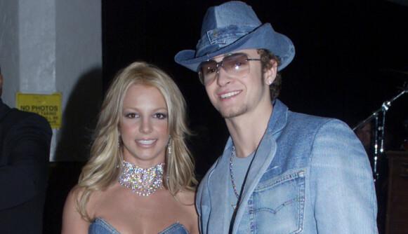 Timberlake ler av denim-fortiden med Britney Spears