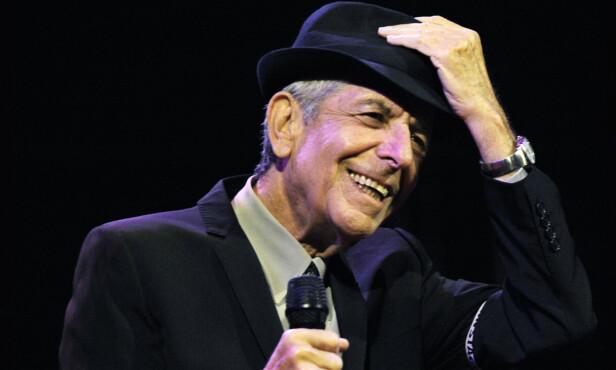 - HØYT ELSKET: Leonard Cohen hadde fans over hele verden, og gjorde stor suksess i løpet av karrieren. Han gikk bort 7. november 2016. Foto: AP