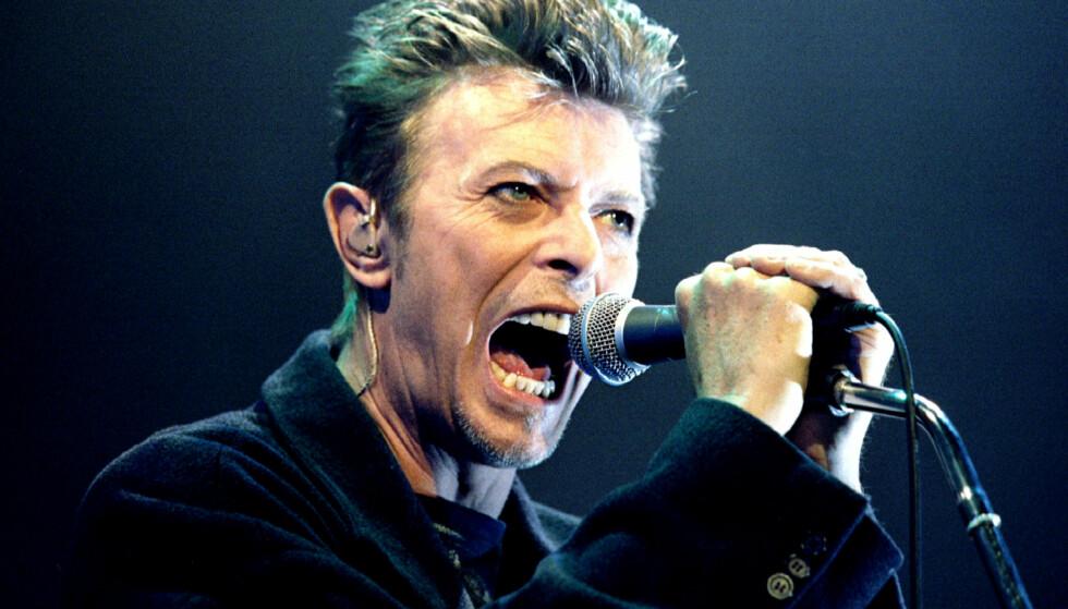 IKON: Den britiske artisten David Bowie har preget verden med musikken sin i flere tiår. Foto: REUTERS/Leonhard Foeger/File Photo