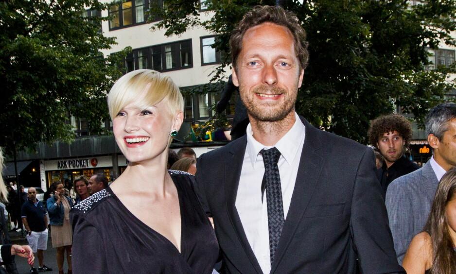 BABYLYKKE: Skuespillerparet Trond Fausa Aurvåg og Lena Kristin Ellingsen har fått sitt andre barn. Foto: Vegard Grøtt / NTB scanpix