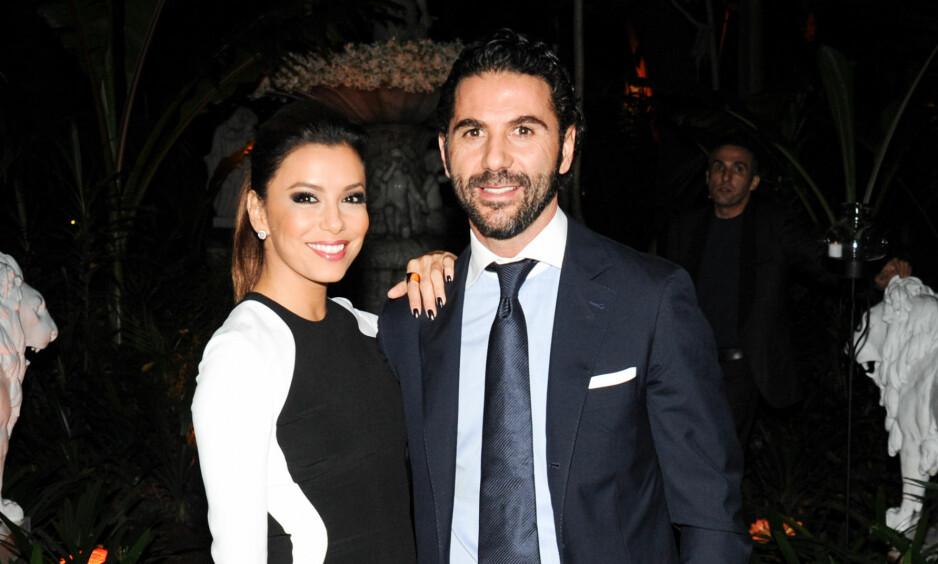 NYGIFTE: Eva og Pepe har vært mann og kone i syv måneder. NTB Scanpix.