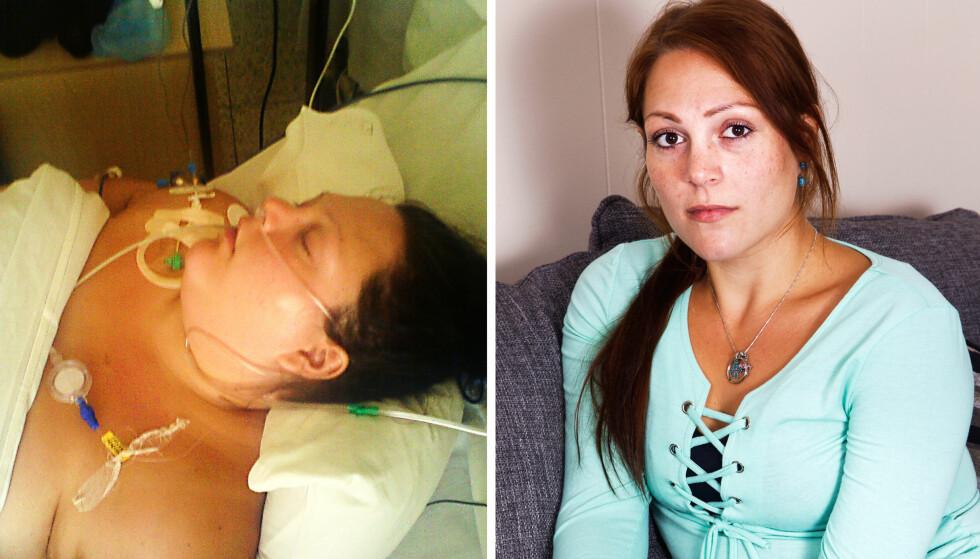 LEVER MED SMERTER: Lena Hoels liv ble snudd på hodet etter sin slankeoperasjon i Russland.
