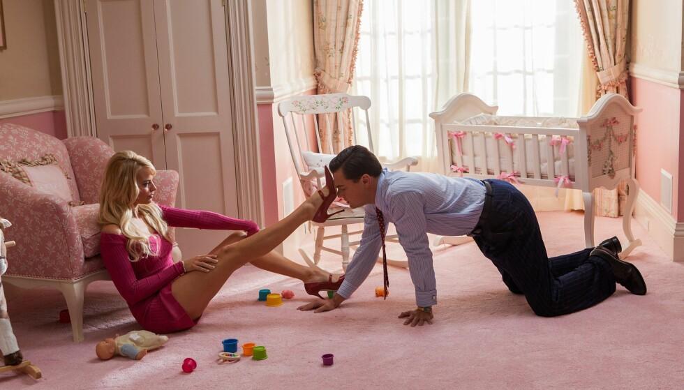 GJENNOMBRUDD: Margot Robbie fikk enorm oppmerksomhet etter hun spilte kona til Leonardo DiCaprio i filmen «The Wolf of Wall Street». Foto: RED GRANITE PICTURES / Album
