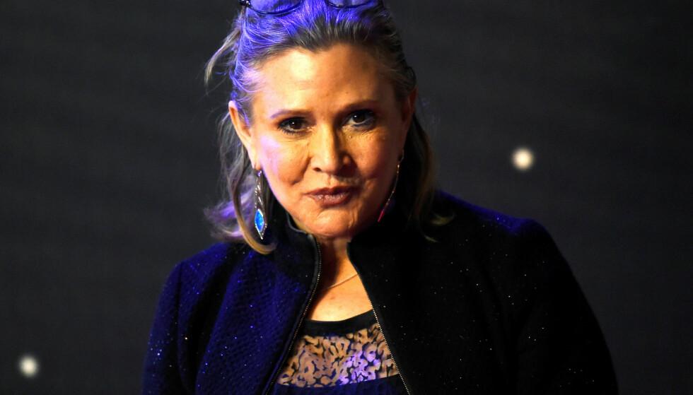 STOR SKUESPILLER: For mange var Fisher med god margin mest kjent som prinsesse Leia Organa i «Star Wars». Foto: NTB Scanpix