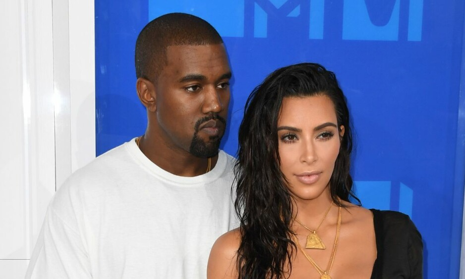 FALSKT TIPS: Lørdag ble Kim Kardashian og ektemannen Kanye West utsatt for politirazzia etter et falskt tips. Foto: NTB Scanpix
