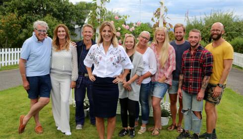 NYSATSING: Det er Guri Solberg og resten av gjengen som skal underholde med «Sommerhytta» gjennom våren på TV 2. Foto: TV 2