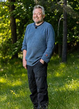LIKTE SEG: Lars Barmen trivdes på tv-gården, og syntes det var synd å ryke ut. FOTO: Alex Iversen / TV 2
