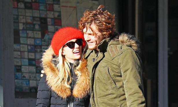 SAMMEN IGJEN: Emma og Evan ble sammen igjen i august i fjor, og nå skal paret visstnok ha forlovet seg for andre gang. FOTO: Splash News/NTB Scanpix