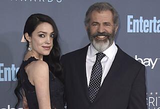 Mel Gibson (61) ble far for niende gang