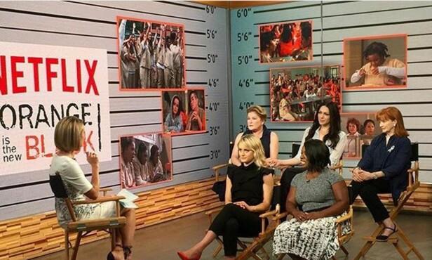 «ORANGE IS THE NEW BLACK»: Netflix-serien «Orange is the New Black» har blitt en svært populær serie som folk har pakket tett til sitt bryst. Foto: NTB scanpix
