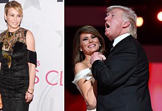 - Melania Trump kan knapt snakke engelsk