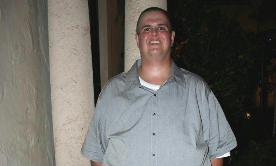 TUNGVEKTER: Familien slo alarm over Sals dramatiske vektøkning, men han ble ekstremt tung før han klarte å ta grep. Foto: PA