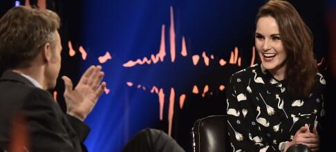 «Downton Abbey»-stjernen viser sitt skjulte talent for Skavlan