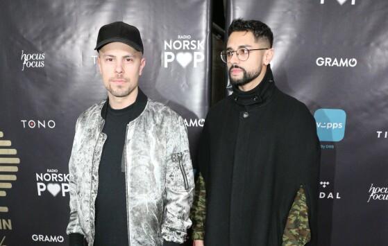 VANT PRIS: Karpe Diem vant pris i klassen «urban» for albumet «Heisann Monntebello». Foto: NTB Scanpix
