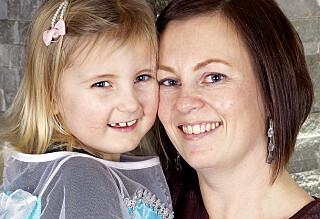 Pernille (6) reddet mammas liv - nå kjemper hun selv for livet