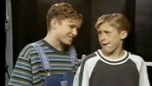 <strong>KJENNER DU DEM IGJEN?:</strong> Justin Timberlake og Ryan Gosling i barneshow som 12-åringer. I dag er de blant Hollywoods største stjerner. Foto: YouTube