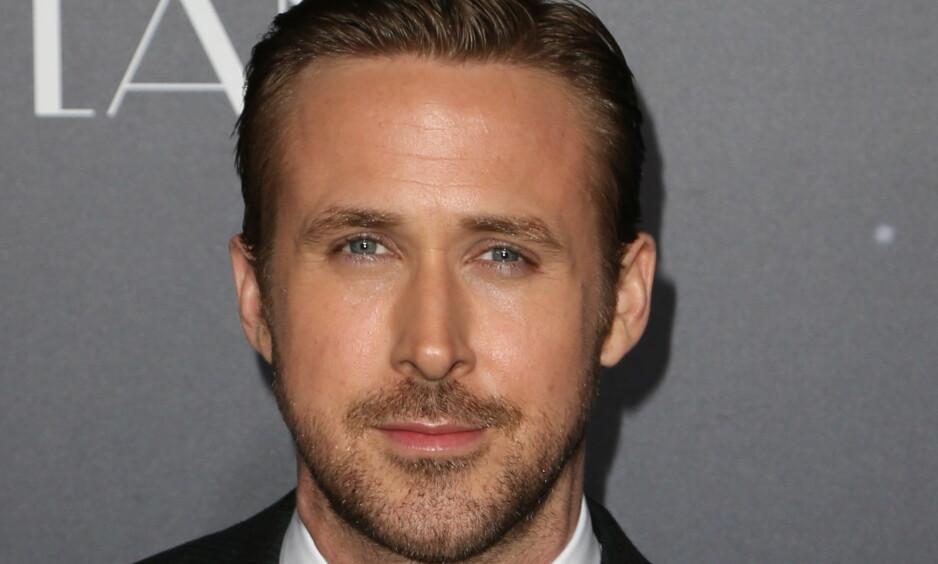 KJEKKAS: Ryan Gosling som om dagen er aktuell med filmen «La La Land» er opptil flere ganger blitt kåret til verdens mest sexy mann: Foto: NTB Scanpix