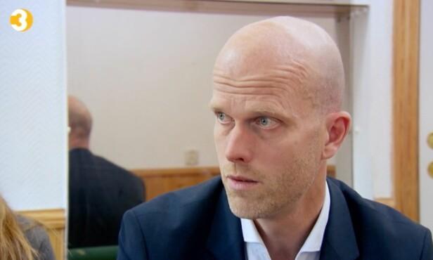 SJOKKERT: Hallgeir er sjokkert over hvor mye penger Azfar har klart å sløse bare på spilling. Foto: TV3