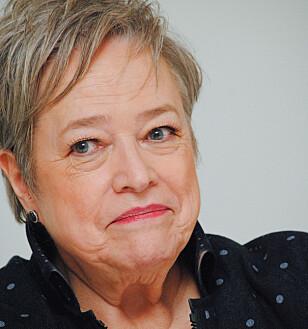 SPILTE MOLLY: Kathy Bates. Foto: NTB Scanpix