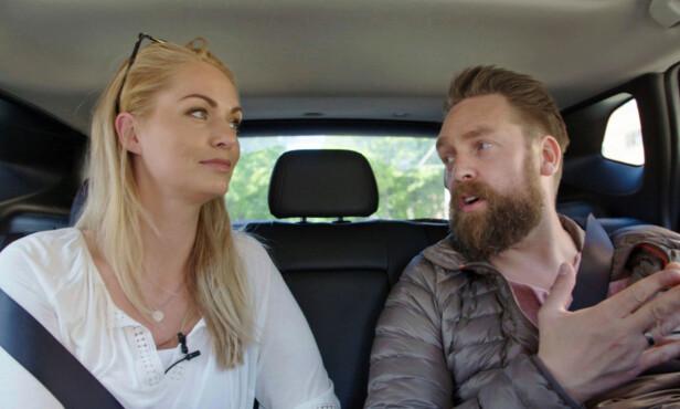 <strong>DVELENDE:</strong> Burøe lurer gjentatte ganger på hva kona skal overraske ham med. Foto: TV 2