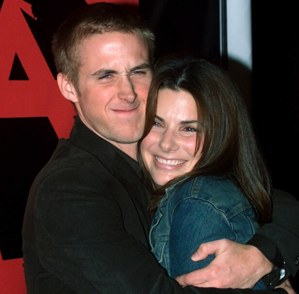 KORTVARIG FORHOLD: Ryan Gosling kom sammen med Sandra Bullock på «The Believer»-premieren i Los Angeles høsten  2001, noen måneder før filmen deres «Murder by Numbers» hadde premiere i USA. Foto: Fred Prouser/ REUTERS/ NTB scanpix