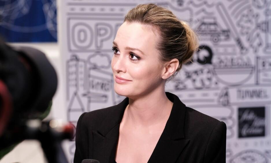 SKEPTISK: Skuespiller Leighton Meester (30) mener Gwyneth Paltrows mange råd og tips fremstår lite troverdig. Foto: NTB Scanpix