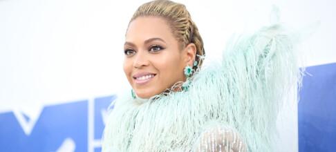 Dette bildet kan ha røpet kjønnet på Beyoncés tvillinger