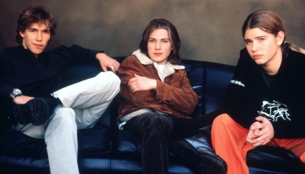 SUKSESS: Poptrioen Hanson ble store i 1997. Nå gjør de comeback og reiser på turné.