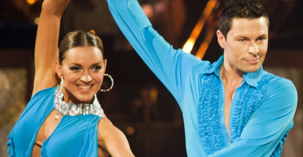 «Skal vi danse»: Anders Jacobsen deltok i «Skal vi danse» i 2011 sammen med Elena Bokoreva Wiulsrud. Foto: NTB scanpix