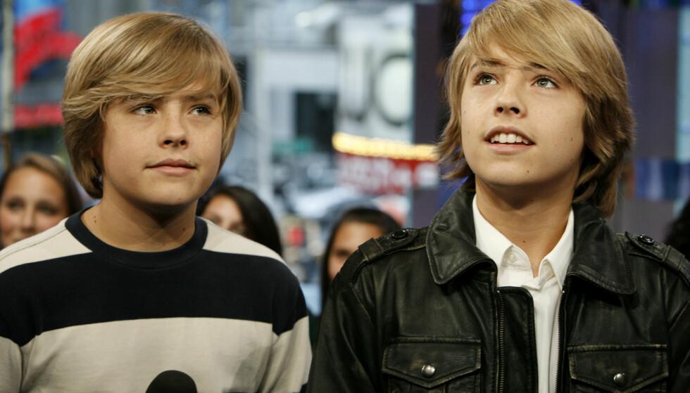 RADARPAR: Dylan og Cole Sprouse, i «Zack & Cody»-perioden. Foto: NTB Scanpix
