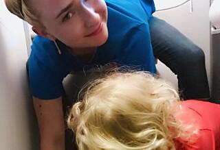 Hayden Panettiere avslørte datterens pinlige uhell