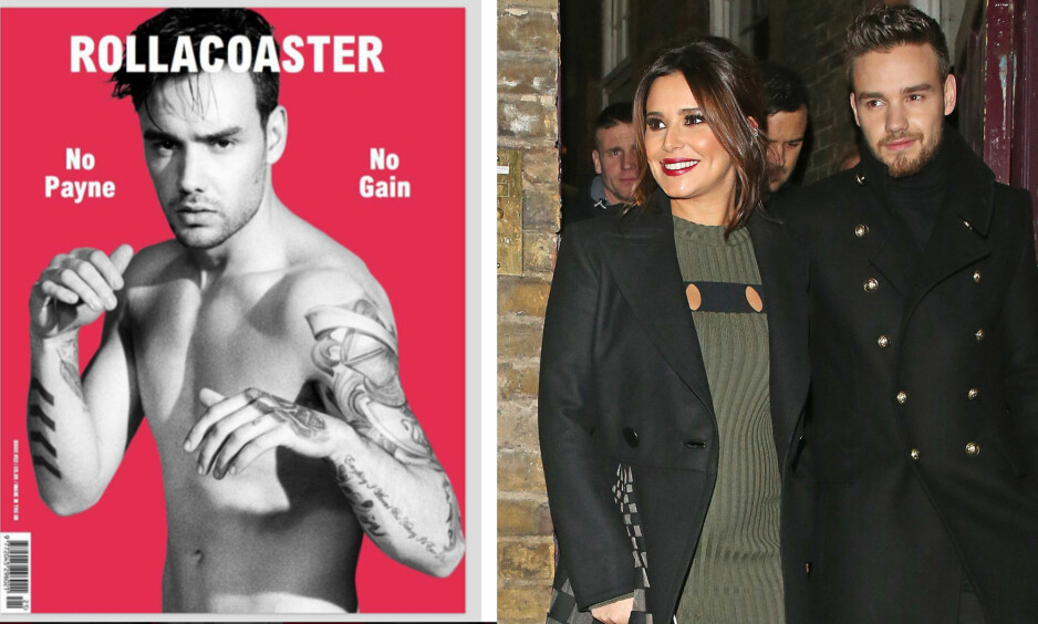 KRITIKK: Fansen er ikke spesielt fornøyde med at brystvortene til Liam er fraværende på den kommende magasinforsiden til magasinet Rollacoaster. Foto: Twitter/NTB scanpix