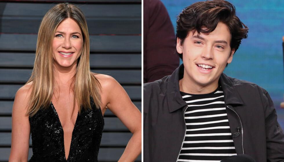 BETATT: «Friends» gikk på TV mellom 1994 og 2004, og er et av de mest populære humorprogrammene gjennom tidene. Cole Sprouse gjør for tiden suksess i TV-serien «Riverdale», men som liten var det Jennifer Aniston som stjal fokuset fra ham. Her avbildet under et intervju i januar. Foto: NTB Scanpix
