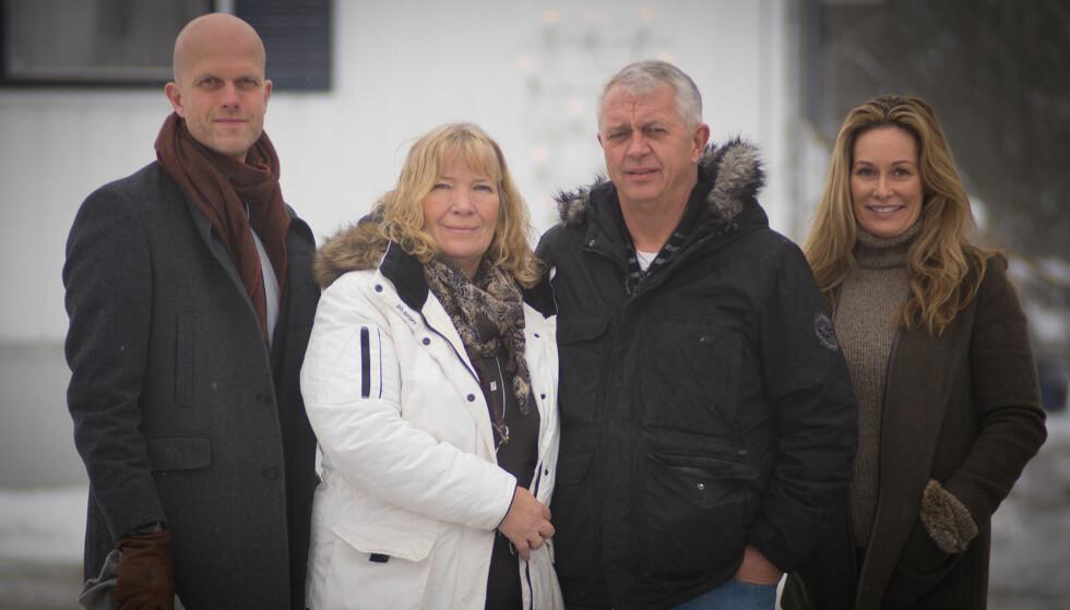 FIKK HJELP: Ekteparet fra Andebu i Vestfold får denne uka hjelp av «Luksusfellen»-ekspertene. Foto: TV3
