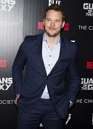 OPPGJØR: Chris Pratt slår tilbake mot kritikken på Instagram. Foto: NTB scanpix