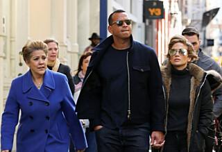 Jennifer Lopez introduserte kjæresten for moren sin