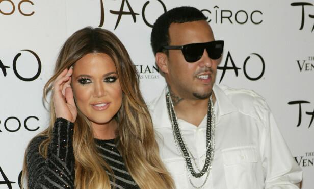 EKSER: Khloe Kardashian og French Montana var sammen i et halvt år før forholdet tok slutt. Foto: NTB scanpix