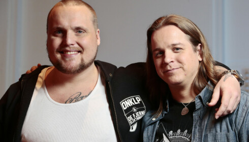 POPULÆR DUO: Det er Stian Thorbjørnsen (t.v) og Lasse Jensen som utgjør duoen Staysman & Lazz. Foto: NTB Scanpix