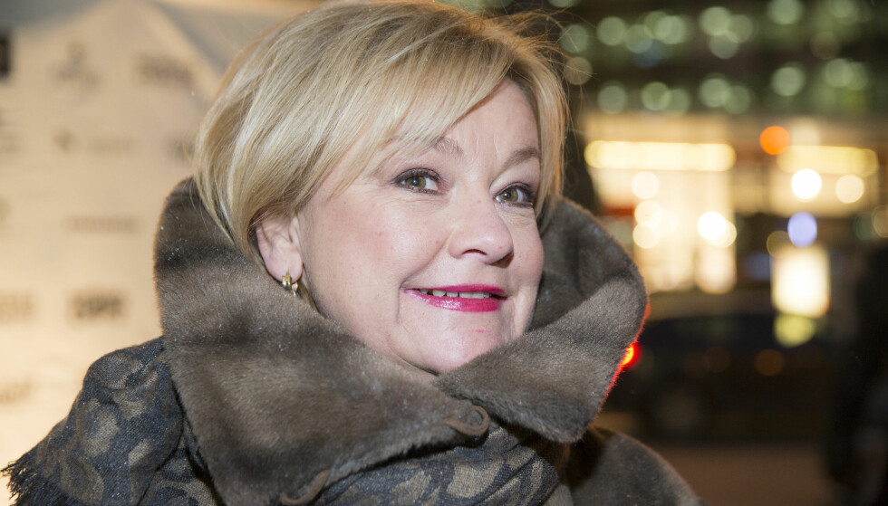 ELDRE PÅ TV: Anette Hoff spilte en av hovedrollene i «Hotel Cæsar» i nesten 20 år. Her er hun på «Birkebeinerne»-premieren i Oslo i 2016. Foto: Berit Roald / NTB scanpix