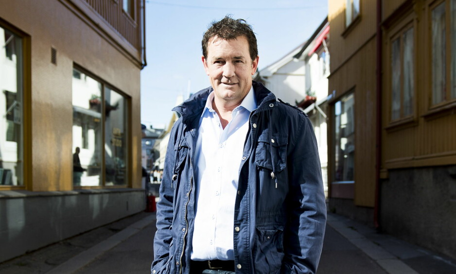 NYTT LIV: TV 2-profil Sturla Berg-Johansen (49) har vært nykter i 17 år, og holder seg edru med meditasjon. Her avbildet i hjembyen Tønsberg, i forbindelse med nevnte Dagbladet-intervju. Foto: Lars Eivind Bones / Dagbladet