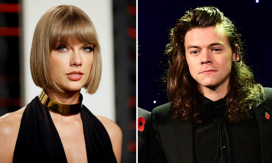 <strong>KORT ROMANSE:</strong> Taylor Swift og Harry Styles hadde et svært kortvarig forhold i slutten av 2012. Foto: NTB scanpix