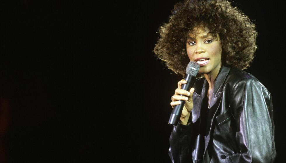 <strong>SANGERINNE:</strong> Whitney Houston var en av verdens mest populære artister. Foto: NTB scanpix&nbsp;