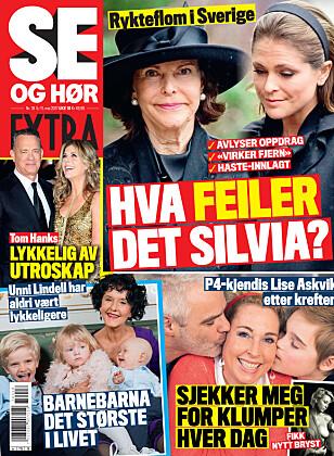 I SALG NÅ: I nyeste nummer av Se og Hør Extra kan du lese mer om Eldar Rønning. Faksimilie: Se og Hør
