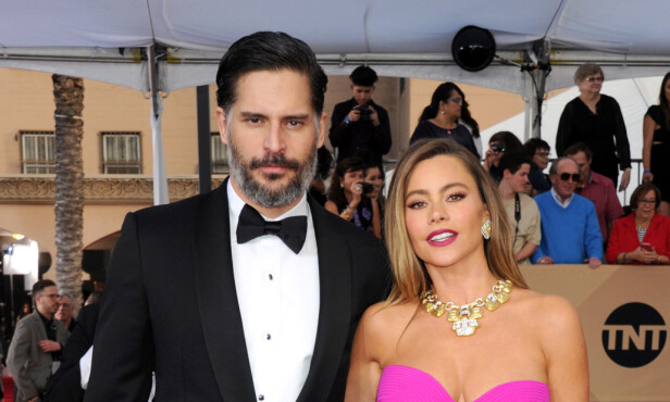 GIFT: Sofia Vergara har vært gift med skuespillerkollega Joe Manganiello i halvannet år. Foto: NTB Scanpix